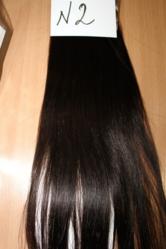 Натуральные волосы на заколках,  славянские