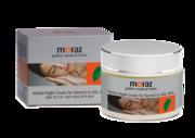 Ночной натуральный крем для нормальной и жирной кожи лица Moraz Herbal Night