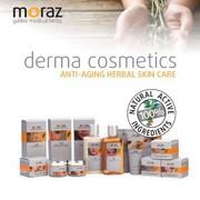 Набор травяной косметики против старения Moraz anti-aging herbal skin