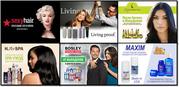Профессиональная косметика для волос и тела производства США