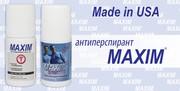 Антиперспиранты Maxim и  Maxim Sensitive