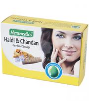 Аюрведическое мыло с натуральными травами из Индии.